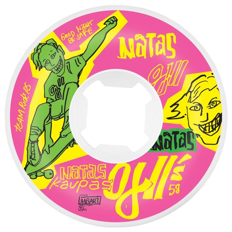 OJ Wheels Natas Pink Skateboard Wheels Canada Online Vancouver Sales