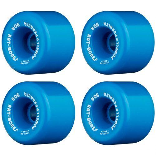 Powell Peralta Rat Bones 60mm 90a Blue Skateboard Reissue Wheels Canada Pickup Vancouver