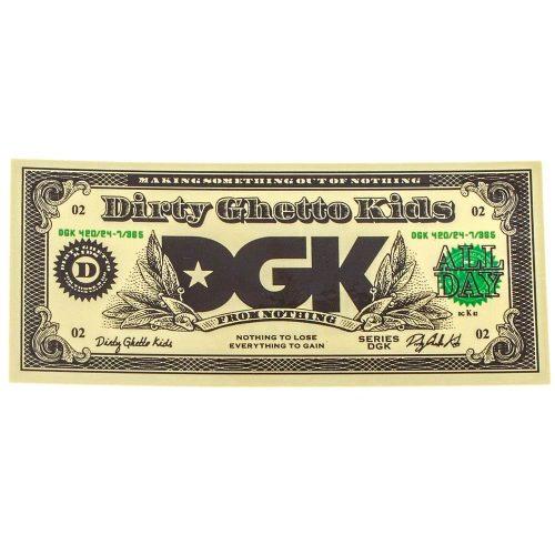DGK Buck Sticker Canada Online Sales Vancouver