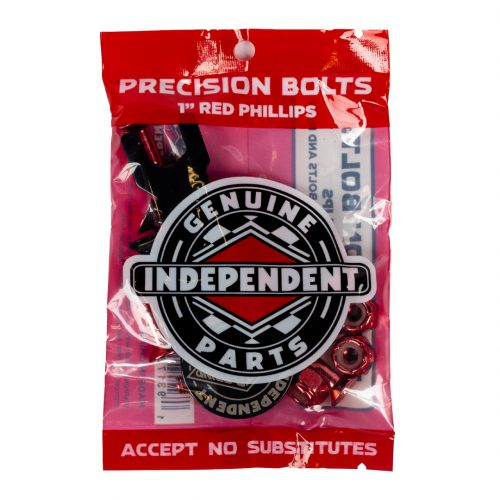 """Buy Independent Countersunk Hardware 1"""" Black/Red Canada Online Sales Vancouver Pickup"""
