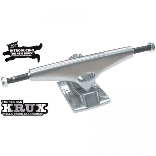 "Krux Trucks K5 8"" 8.25"" DLK Polished Silver Skateboard Canada Pickup Vancouver"