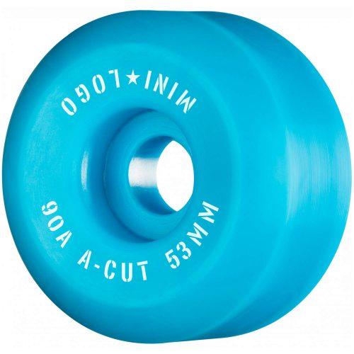 Mini Logo A-Cut Hybrid Wheels 53mm 90a Blue Skateboard Canada Pickup Vancouver