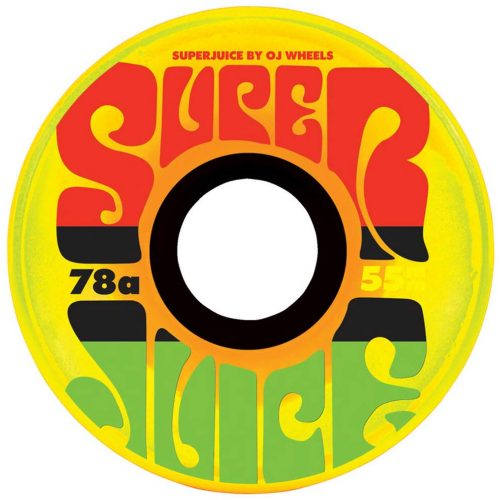 OJ Wheels Mini Super Juice Jamaican Sunrise Skateboard Vancouver Sales Canada Online