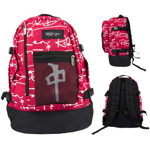 RDS BACKPACK EXPLORER SIGNATURE RED WHITE Skateboard Canada Pickup Vancouver