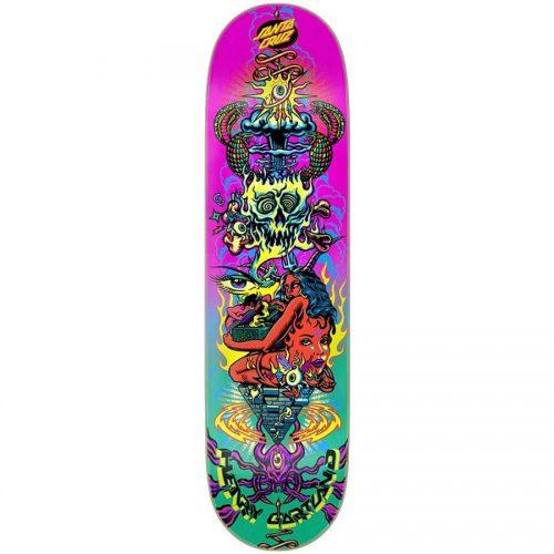 Santa Cruz Henry Gartland Sweet Dreams 8.28 x 31.83 Deck Pink Green Skateboard Canada Pickup Vancouver