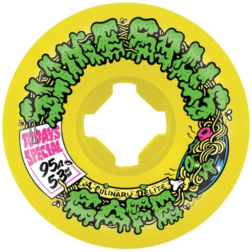 Santa Cruz Slime Balls Double Take Cafe Mini Vomits 53mm 95A Yellow/Black Canada Pickup Vancouver
