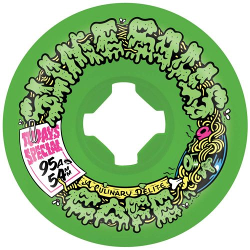 Santa Cruz Slime Balls Double Take Cafe Mini Vomits 54mm 95A Green/Black Canada Pickup Vancouver