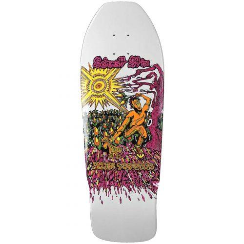 Schmitt Stix Allen Midgette Reissue Deck White Dip Skateboard Canada Pickup Vancouver