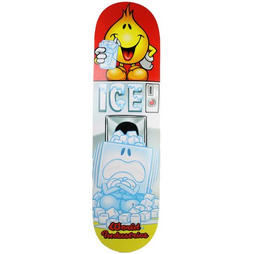 World Industries Ice Cube Willy Deck 8.25 White Canada Skateboard Pickup Vancouver