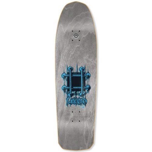 Black Label Lucero OG Bars 9.25 Grey Stain Reissue Deck Skateboard Canada Pickup Vancouver