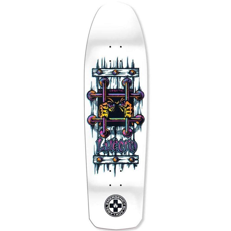 Black Label Lucero OG Bars 9.25 White Dip Reissue Deck Skateboard Canada Pickup Vancouver