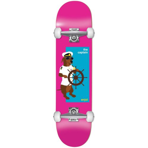 Enjoi The Captain Youth Complete 7.25 Pink Skateboard Canada Pickup Vancouver