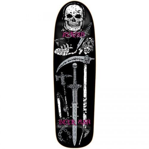 Heroin DMODW Video City Deck 9.3 x 32.125 Black Deer Man Of Dark Woods Skateboard Canada Pickup Vancouver