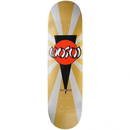Hosoi Rising Sun Mini Ripper Deck 7.125 x 29.5 gold silver Skateboard Youth Canada Pickup Vancouver