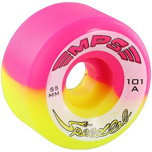Speedlab MPS Special Edition 55mm 101a Pink Yellow Split Skateboard Wheels Canada Pickup Vancouver