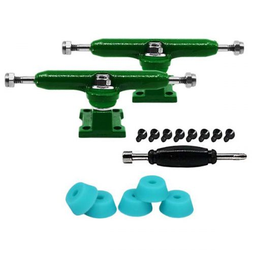 Teak Tuning Prodigy Fingerboard Trucks Green Vancouver Local Canada Online