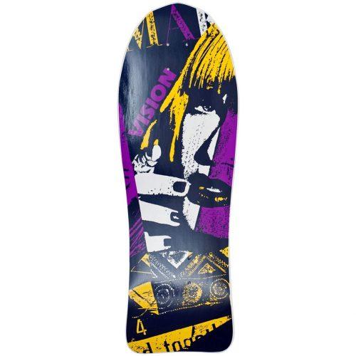 Vision Aggressor Reissue Deck 10.5 x 30.5 White Dip Skateboard Canada Pickup Vancouver