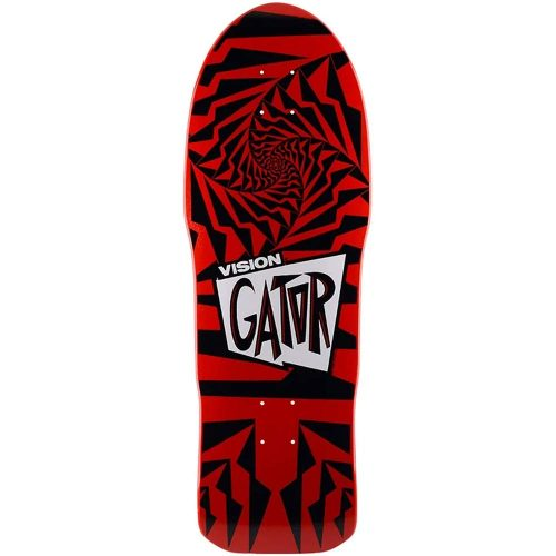 Vision Gator II Reissue Deck 10.25 x 29.75 Red Dip Skateboard Canada Pickup Vancouver