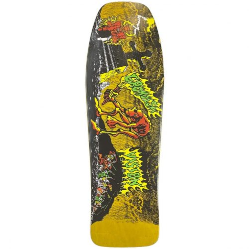 Vision Groholski Graveyard Mob Reissue Original Concave Deck Yellow Stain Canada Online Sales Vancouver Pickup
