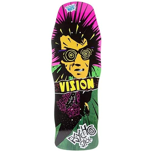 Vision Psycho Stick Green Reissue Skateboard Deck Vancouver Pickup Canada