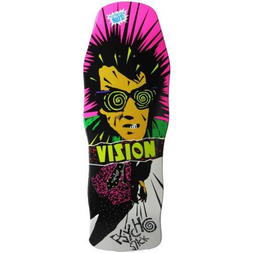 Vision Psycho Stick White Dip Reissue Skateboard Deck Vancouver Pickup Canada