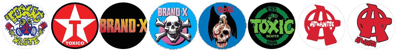 Brand-X-Toxic Ripstik Toxico Atlantic Skateboards Reissue Canada Pickup Vancouver