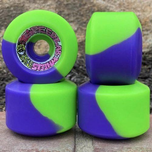 Speedlab Strangehouse 60mm 95a Green/Purple Split Canada Online Sales Vancouver Pickup