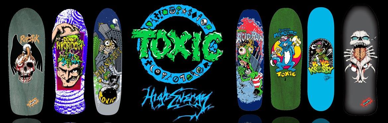 Toxic Skateboards Canada Pickup Vancouver