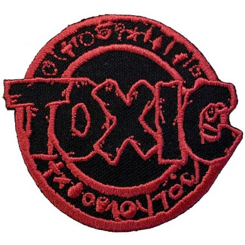 Toxic Brand X Skateboards Patch Canada Vancouver Local