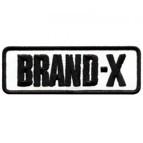 Brand-X Logo Patch Canada Online Sales Vancouver Pickup