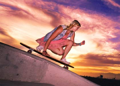 Sunset Boarders: Our exploration of different times of the day to ride