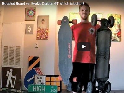Boosted Board vs. Evolve Carbon GT Which is better?