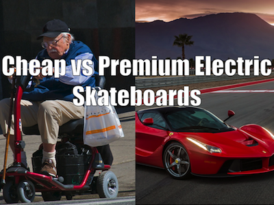 Cheap Electric Skateboards Feature