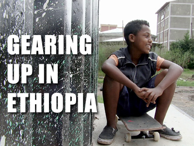 No Shoes No Problem – Gearing up in Ethiopia's First Public Skatepark