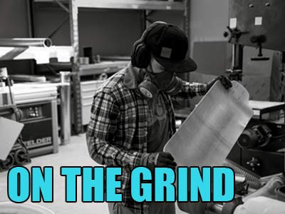 """On the Grind the """"Made in Germany"""" Board Factory!"""