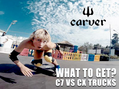 What CARVER Trucks are right for me?  C7 VS CX