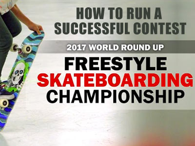 Keys to Success - How to Run a Successful Skateboard Contest