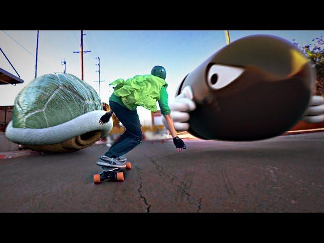 Mario Skate (60 fps)
