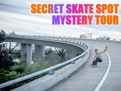 Secret Skate Spot Mystery Tour