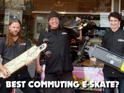 Best E-skate to use commuting from A to B