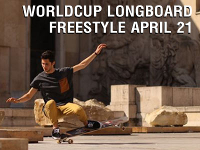 So.. You Can Longboard Dance? Worldcup Longboard Freestyle April 21