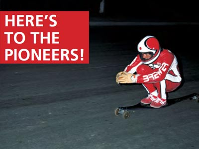 HERE'S TO THE PIONEERS!