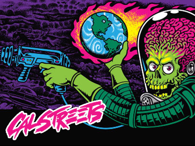 Are You A Skateboard Collector Santa Cruz Mars Attacks