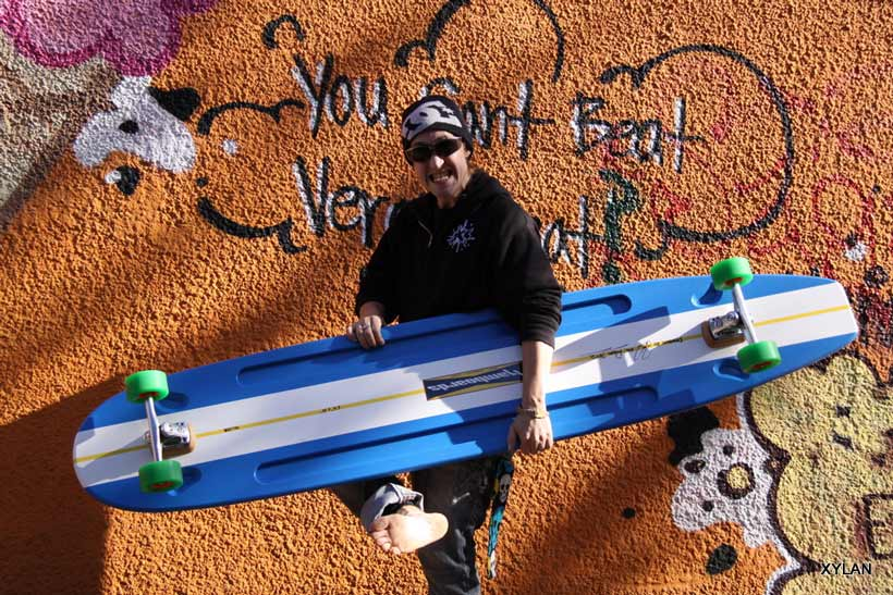Changing the World…One really big skateboard at a time. HAMBOARDS