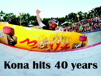 KONA HITS 40 YEARS