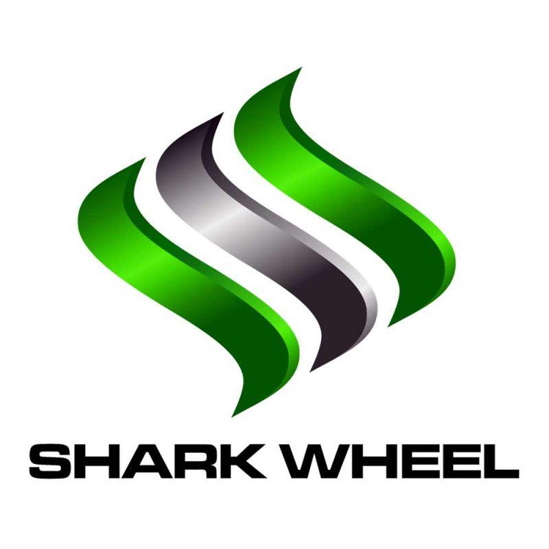 Shark Wheels Skateboard Sticker 4'' Classic Logo
