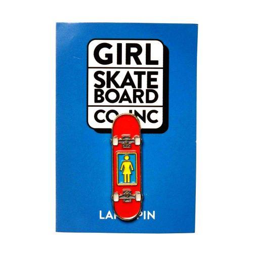 "Girl Skateboard Company Enamel 0.39"" x 1.25"" Pin"