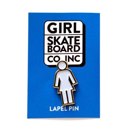 """Girl Skateboard Company Enamel OG 0.39"""" x 1.25"""" Pin"""