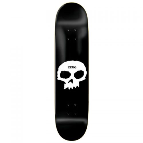 Zero Skateboards Single Skull Deck 8.0''