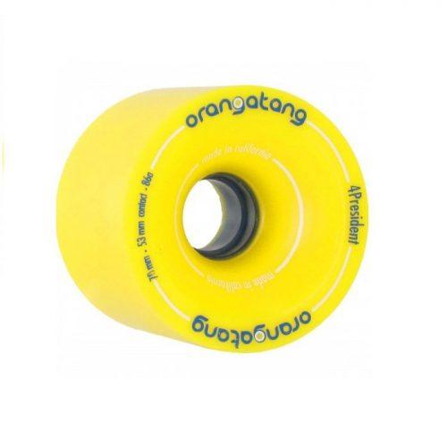 Orangatang 4President 70mm 86a Yellow